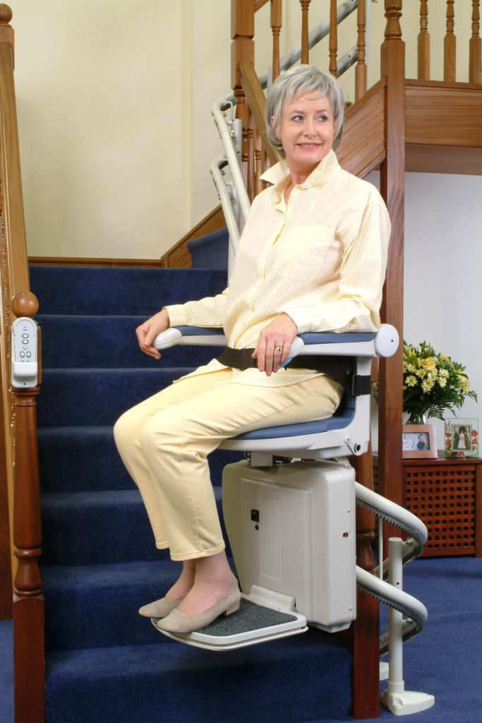 Curved Chair Stairlift By Liftup